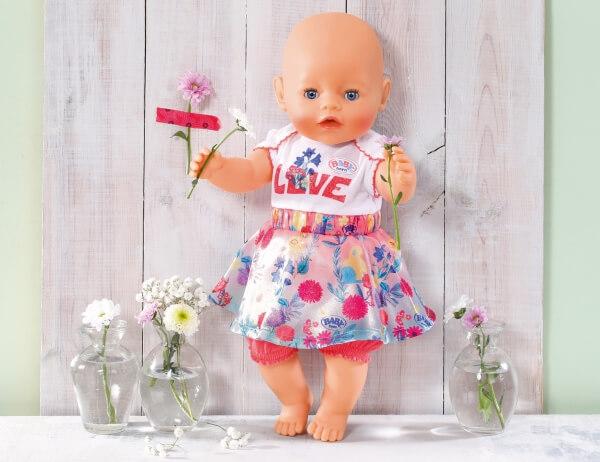 Kleidung & Accessoires sortiert Zapf BABY born® Trend Babykleidung Peace