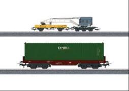 Märklin 44452 Märklin Start Up Wagenset Containerverladung