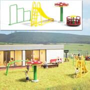 Spielplatz Geräte H0