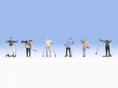 H0 Skifahrer