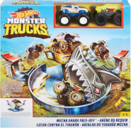 Mattel FYK14 Hot Wheels Monster Trucks Hai-Arena Spielset
