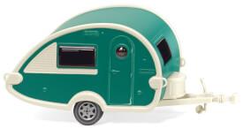 Wohnwagen (T@B) - grün/perlweiß
