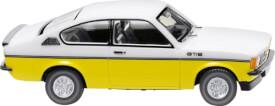 Wiking Opel Kadett C Coupé GT/E - weiß/gelb