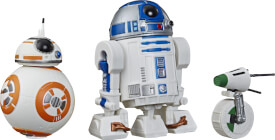 Hasbro E3118EU4 Star Wars Galaxy of Adventures Episode 9 Droiden 3er-Pack