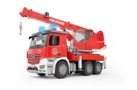 Bruder MB Arocs Feuerwehr Kran, ab 4 Jahren, Maße: 52 x 18,5 x 28 cm, Kunststoff