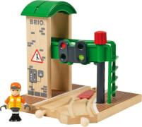 BRIO 33674000 Signal Station, Holz, Kunststoff, ab 3 Jahren