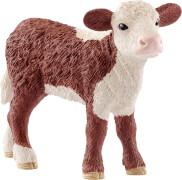 Schleich Farm World Bauernhoftiere - 13868 Hereford Kalb, ab 3 Jahre