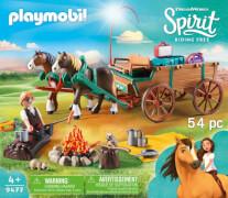 Playmobil 9477 Vater Jim mit Kutsche