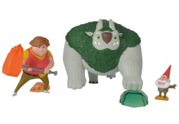 Simba Trolljäger, 3er Figurenset, Tobi
