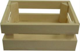 Holzkiste 14 x 11 x 6 cm