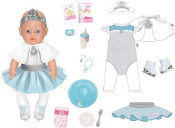 Zapf 829851 BABY born Magic Girl Eisballerina 43cm