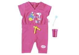 Zapf BABY born® Deluxe Frotteeanzug, ab 3 Jahren