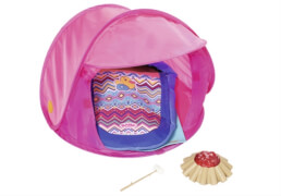 Zapf BABY born® Play&Fun Camping Set, ab 3 Jahren, mehrseitig