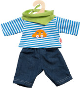 Heless 2315 - Puppen-Jeans mit Shirt, Größe 35-45 cm