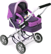 CHIC 2000 Mini Puppenwagen Smarty purple, ca. 56 cm
