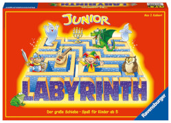 Ravensburger 212101  Junior Labyrinth, Kinderspiel