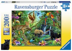 Ravensburger 12660 Puzzle Tiere im Dschungel 200 Teile