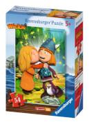 Ravensburger 94677 Minipuzzle: Maja und Wickie, 54 Teile
