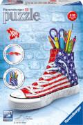 Ravensburger 125494 Puzzle 3D Sneaker Flag Edition 108 Teile
