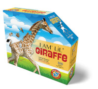 Puzzle Shape Junior Giraffe 100 Teile