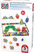 Schmidt Spiele 51237 Kleine Raupe Nimmersatt, Kunterbuntes Früchtesammeln, 2 bis 4 Spieler, ab 3 Jahre