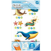 Ravensburger 009091 tiptoi® CREATE Sticker Meerestiere
