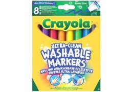 Crayola Filzstifte, auswaschbar 8 Stück