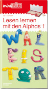 mini Lük Lesen lernen mit den Alphas