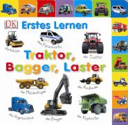 Erstes Lernen: Traktor Bagger Laster