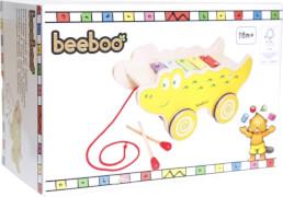 Beeboo Nachziehkrokodil mit Xylophon