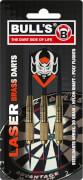 Bull's 3 Steeldart Laser Brass Darts 20 g