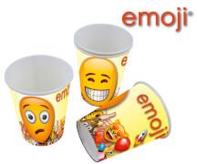 emoji® Becher 200ml, 6 Stück