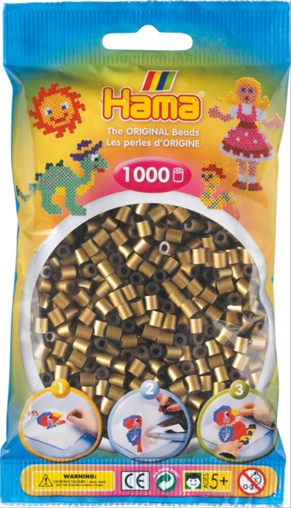 Hama Perlen Orange 1.000 Stück